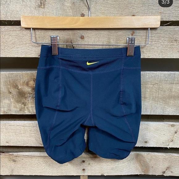 Nike bike shorts size xsmall
